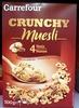 Crunchy muesli - Pépites croustillantes - Produit