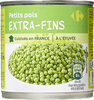 Petits pois extra fins - Product