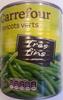 Haricots verts (très fins) - Produit