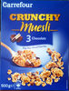 Crunchy Muesli 3 Chocolats - Product