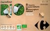 8 Yaourts brassés nature (Au lait entier) - Product
