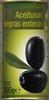 Aceituna negra con hueso - Producte