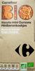 Biscuits mini Oursons Pépites de chocolat Bio - Produit