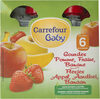 Puree de fruits pommes/fraises/bananes, Dès 6 mois - Product
