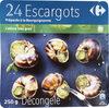 24 Escargots Préparés à la Bourguignonne - Produit
