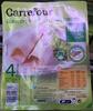 Blanc de poulet aux fines herbes 4 tranches - Product