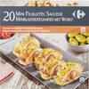 20 Mini feuilletés saucisse - Product