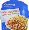 Thon basquaise, légumes et riz complet bio - Product