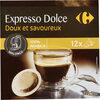 Dosettes de cafe 100% arabica carrefour - Produit