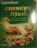 Crunchy Muesli Chocolat au lait et noisettes - Product
