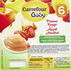 Compote carrefour baby pomme fraise - Product