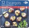 12 Escargots Préparés à la Bourguignonne - Produit