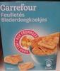 Feuilletés aux fromages - Produit