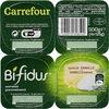 Bifidus saveur Vanille (4 Pots) - Produit
