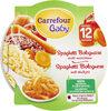 Spaghetti Bolognaise, des 12 mois Les Petits Plats - Product