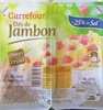 Dés de Jambon (- 25 % de Sel) - Product