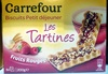 Les Tartines fruits rouges - Product