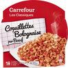 Coquillettes Bolognaise pur Boeuf - Produit
