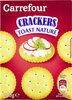 Crackers toast nature - Produit