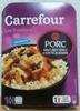 Les evasions - Porc sauce aigre-douce et son riz au sésame - Product