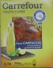 Truite fumée façon Carpaccio à l'huile d'olive et au poivre de Sichuan (5 tranches) - 100 g - Produit