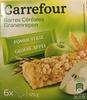 Barres céréales - pomme verte - Produit