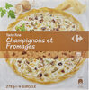 Tarte fine champignons fromages - Product