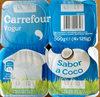 Yogur sabor a coco - Producte