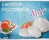Mozzarella light* (9 % MG) - Product