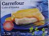 Colin d'Alaska sauce saveur Crustacés, Surgelé - Product