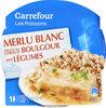 Merlu Blanc Sauce Citron et Boulgour aux Légumes - Product