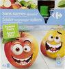 Sans sucres ajoutés* *Contient des sucres naturellement présents - Produit