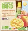 Purée Pommes Mangues Sans sucres ajoutés* *Contient des sucres naturellement présents. - Producto