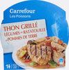 Thon Grillé Légumes En Ratatouille Et Pommes De Terre - Produit