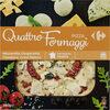 Pizza quattro formaggi - Produit