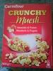 Crunchy muesli - Pépites croustillantes de céréales aux amandes - Product