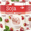 Yaourt soja fraise - Produit