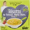 """Risotto de Fenouil, Merlu Blanc, Tomate"" - Produit"