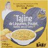 """""""Tajine de Légumes, Poulet, Raisins secs & Curry"""" - Produit"""