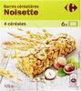 barre céréales noisette - Product