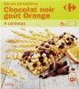 Barre céréalière  au chocolat noir goût orange - Prodotto