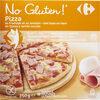 Pizza au fromage et jambon sans gluten - Produit