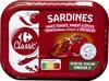Sardines à la sauce tomate, piment et épices - Product