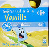 Gouter laitier à la vanille - Produit