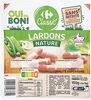 Lardons nature Carrefour Classic' - Produit