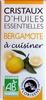 Cristaux d'huiles essentielles de bergamote - Produit