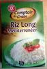 Riz long blanchi méditerraneen - Prodotto