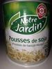 Pousse de soja - Produit