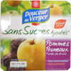 Purées pomme pruneaux - Produit