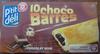 10 choco barres chocolat noir - Product
